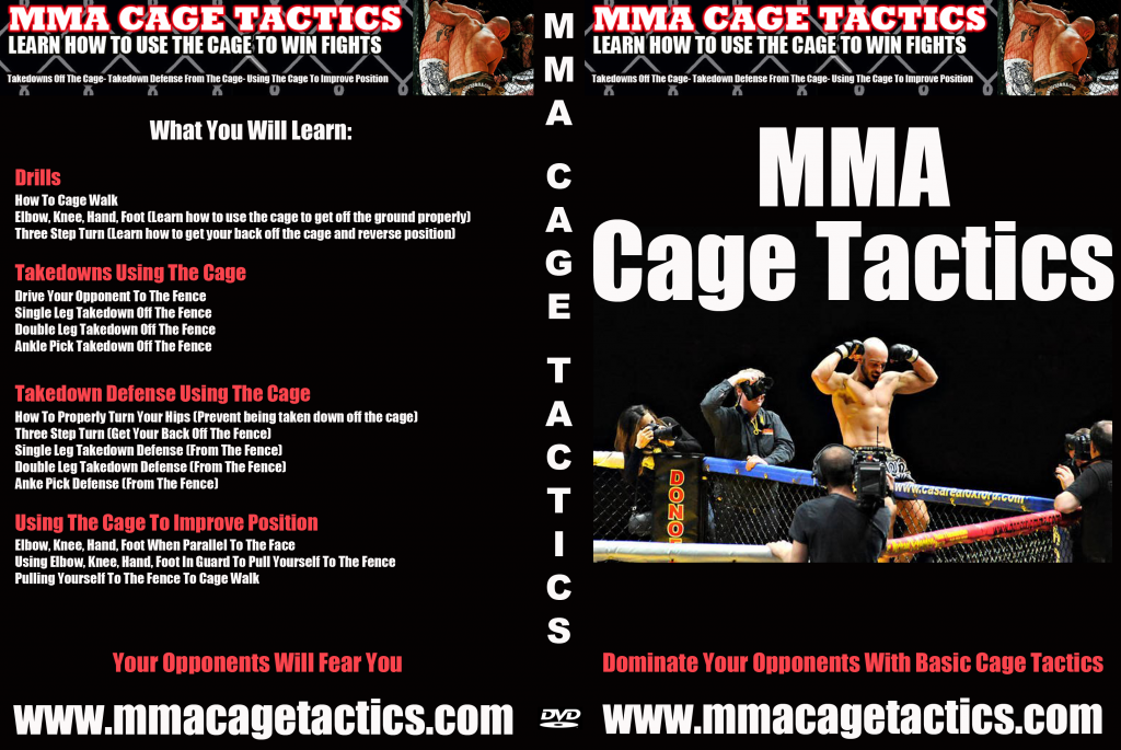 mma training dvd cover